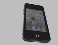 Iphone 4S - Maya 3D