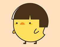 Jess the Chick - sticker pack