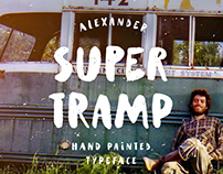 Supertramp typeface