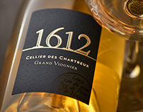 1612 Grand Viognier Wine Label