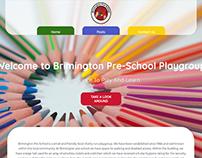 Brimington Pre-School Website Design