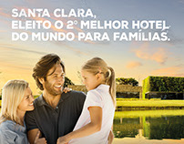 Campanha Prêmios TripAdvisor - Santa Clara Eco Resort