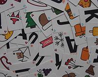 Pestkaarten | Drukwerk + verpakking