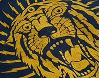 AceWorks Tiger T-Shirt_screenprinting workshop