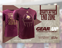 2016 - University Bookstore Sports Apparel Ads