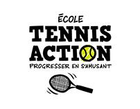 École Tennis Action