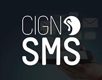 CIGNO SMS | Logo