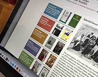 Website redesign, for Institute for Palestine Studies