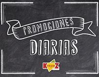 Promos Diarias Krepez