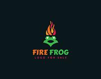 Fire Frog Logo