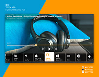DH Tizen TV App for Samsung