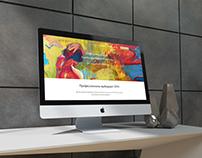 Web-design landing page: STYX Naturcosmetic /Austria/