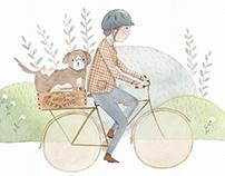 Dogs & Bikes