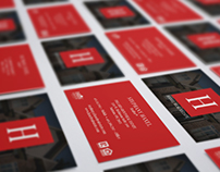 Haxel Real Estate Branding - Business Cards