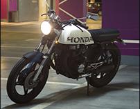 Honda CB 450 N Cafe Racer