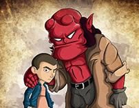 Hellboy & Eleven