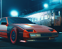 Inspiration Art - Test Working - Nissan 300 ZX