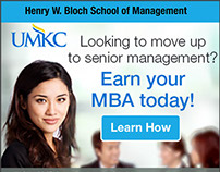 UMKC Banner Ad designs