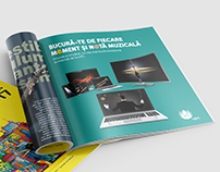 Magazine ad for UPC Romania