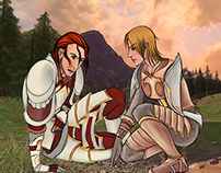Lotro: Eirred and Melimel