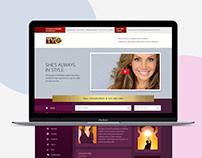 TVG - Landing Page Design