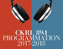 CKRL Programmation 2017-2018