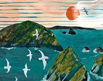 Maatsuyker Island editorial illustration