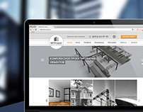 Website for Architectural Design Agency