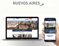 Landing Nuevoa Aires