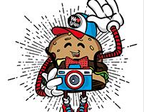 Personaje para Spike's Burgers & Alitas