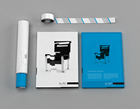 Ax 707 Armchair Concept – Visual Identity
