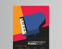 II Coimbra World Piano Meeting - Poster