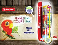 Blister Packaging STABILO color
