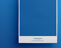 The Big Blue - Rebus Poster