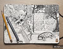 Book Interior Illustrations