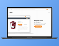 Honey Drop List Landing Page