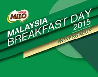 Milo Breakfast Day 2015