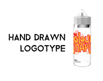 Hand Drawn Logotype for Flavor Brand