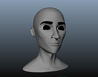 Control Free Character Facial Rig