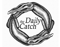 The Daily Catch Logo Mark Illustrated by Steven Noble