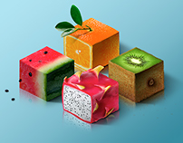 The Amazing World of Isometric Fruits