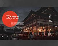Landing page - Kyoto