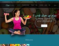 Alexandra Koga Fitness Website Design & Development
