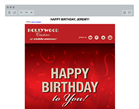 Hollywood Casino Email Campaigns