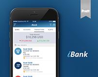 iBank App Design