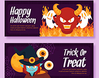Halloween Designs and Illustrations Template