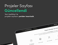 Lazzonı Furnıture Projects Web UX UI Design
