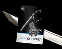 Chopper Series, Logo and catalogue cover