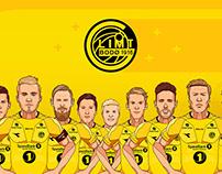 Player portraits: FK Bodø/Glimt