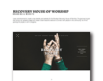 Branding & Website for Recovery House, Brooklyn